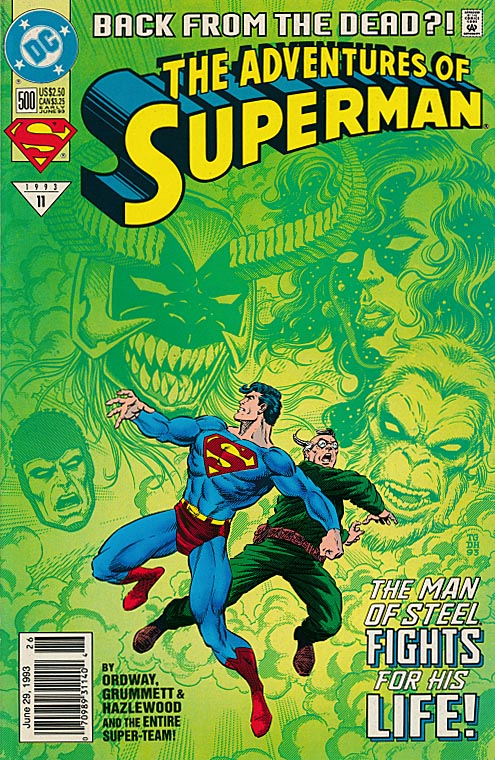 Adventures Of Superman 500 (Newstand Ed)