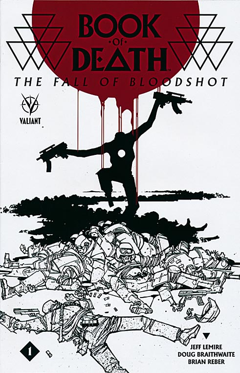 Book Of Death The Fall Of Bloodshot 1 (Jefte Palo Cover)