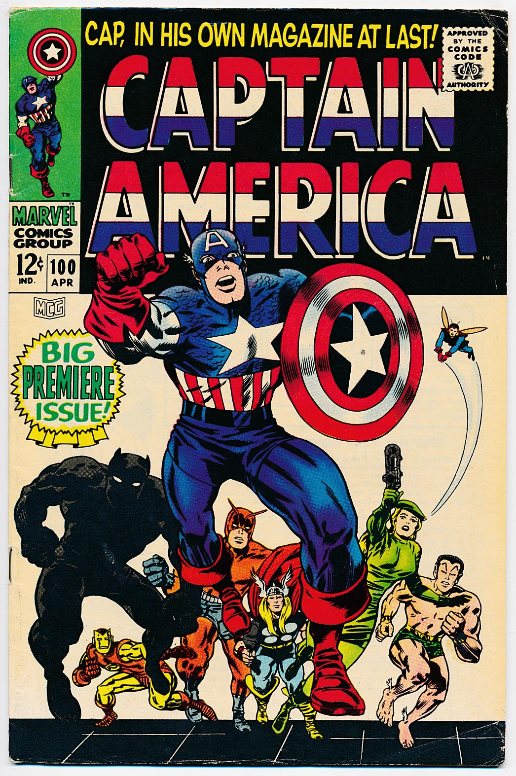 Captain America 100 -VF