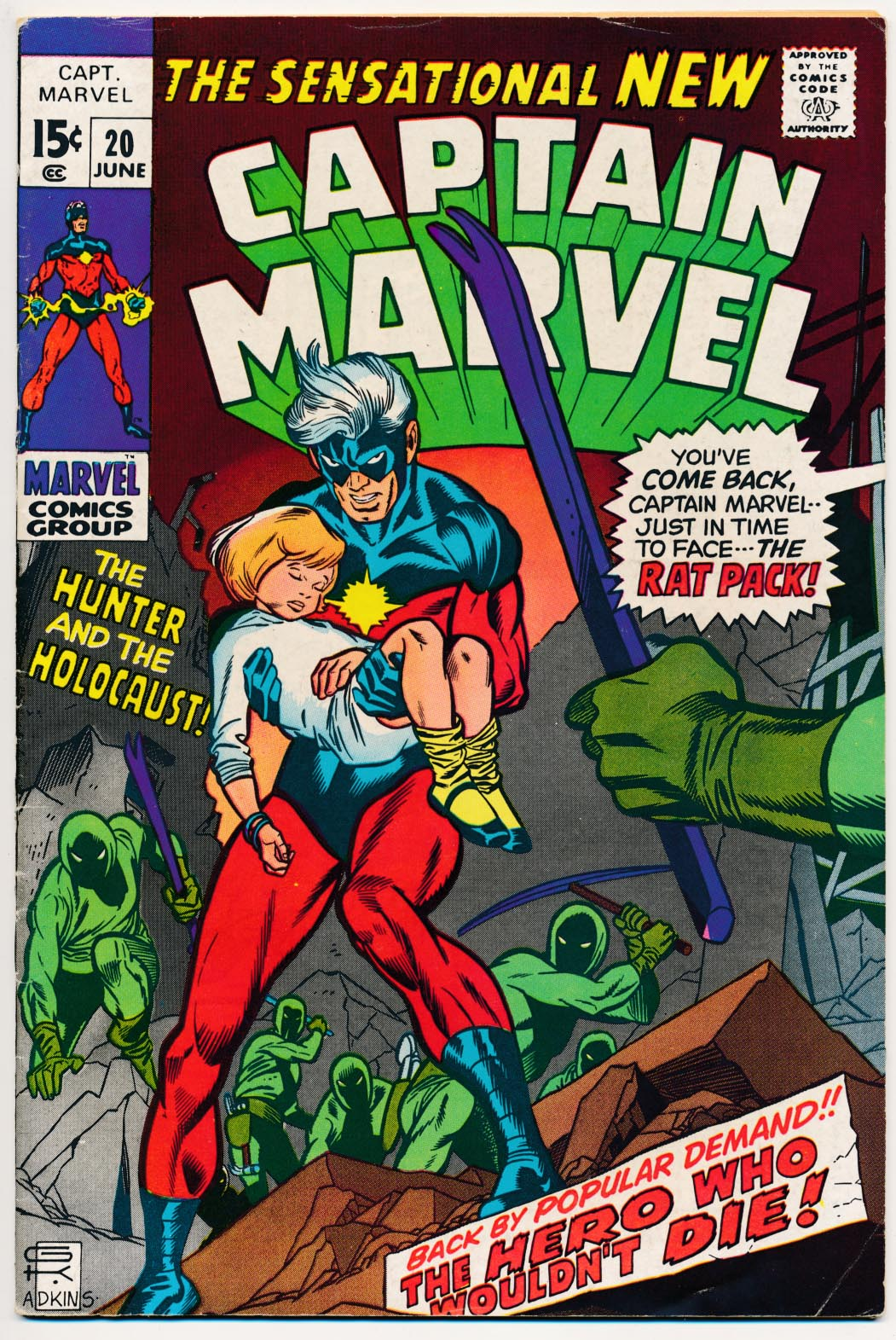 Captain Marvel 20 -VF