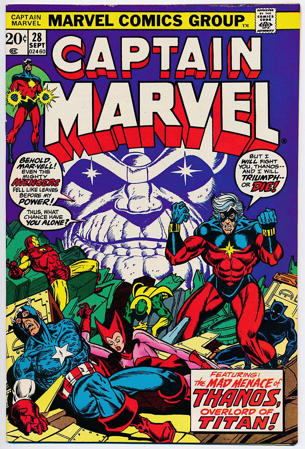 Captain Marvel 28 -VF