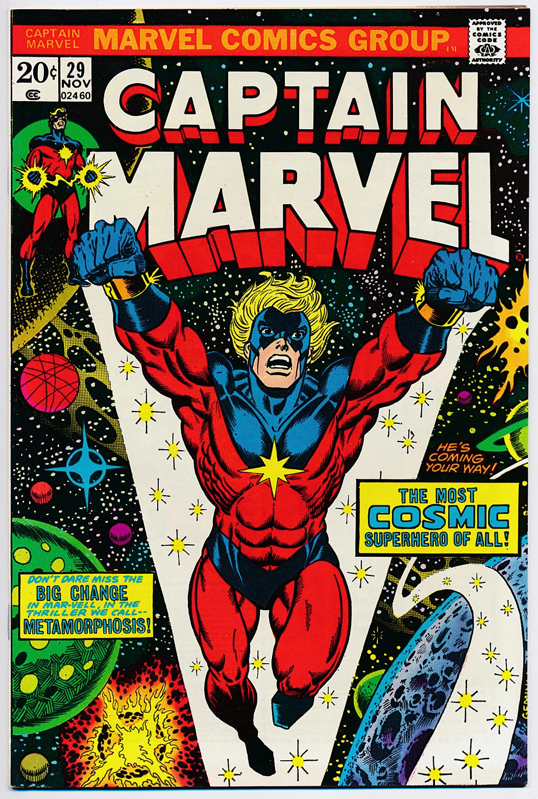 Captain Marvel 29 -VF
