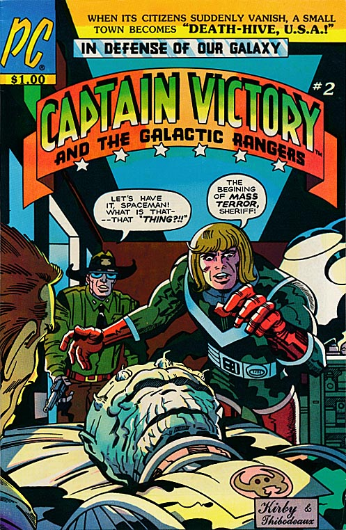 Captain Victory and the Galactic Rangers 2 -VF