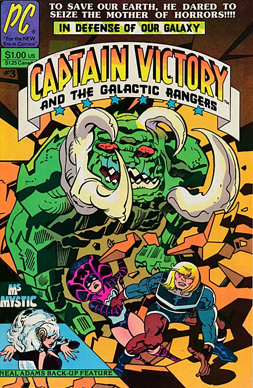 Captain Victory and the Galactic Rangers 3 -VF