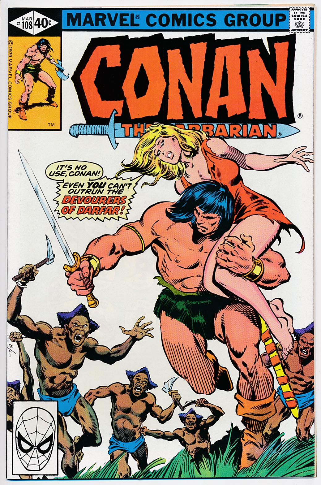 Conan The Barbarian (Marvel) 108 (Direct Edition) -NM
