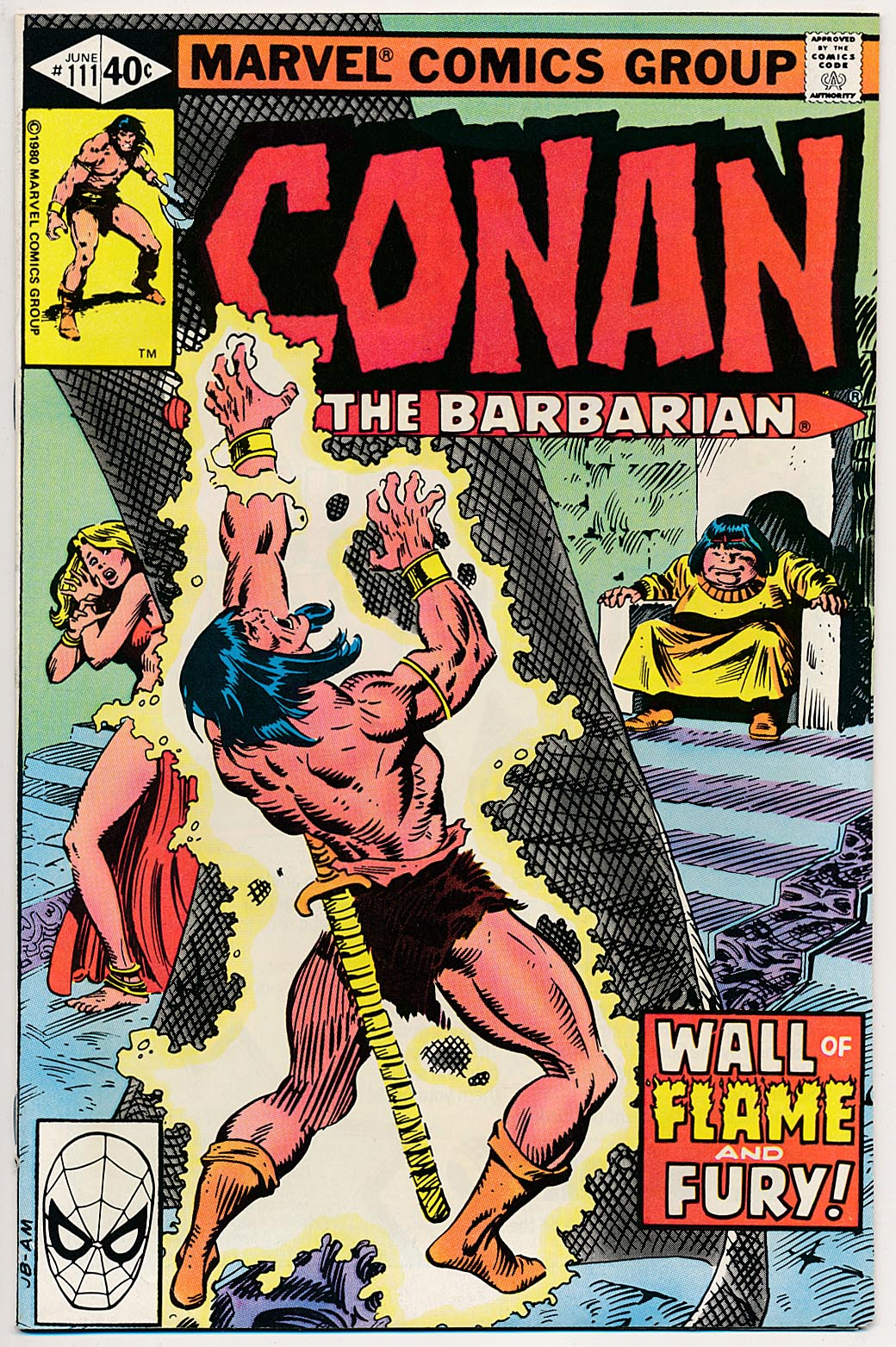 Conan The Barbarian (Marvel) 111 -NM