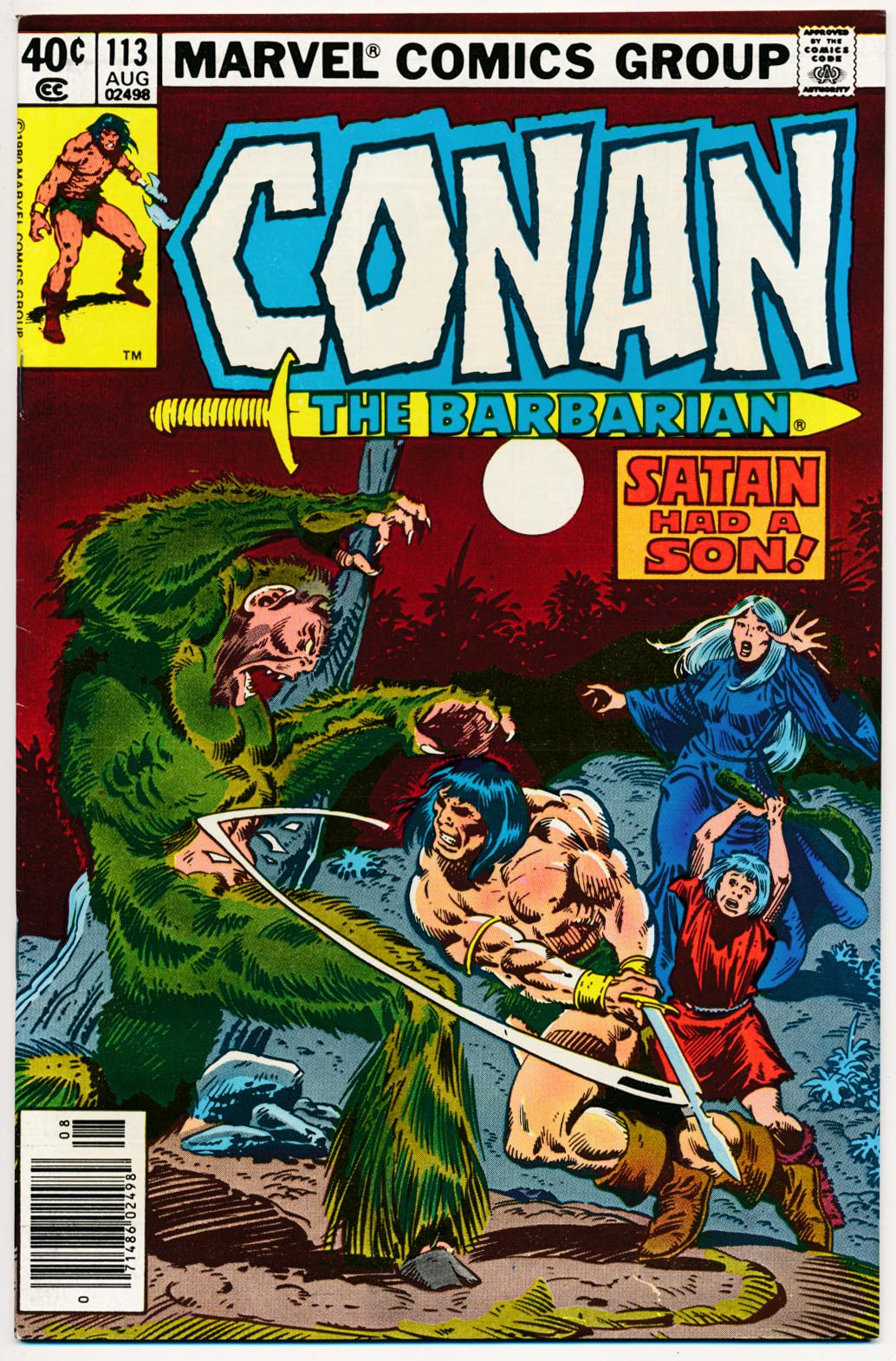 Conan The Barbarian (Marvel) 113 (Newstand Ed) -VFNM