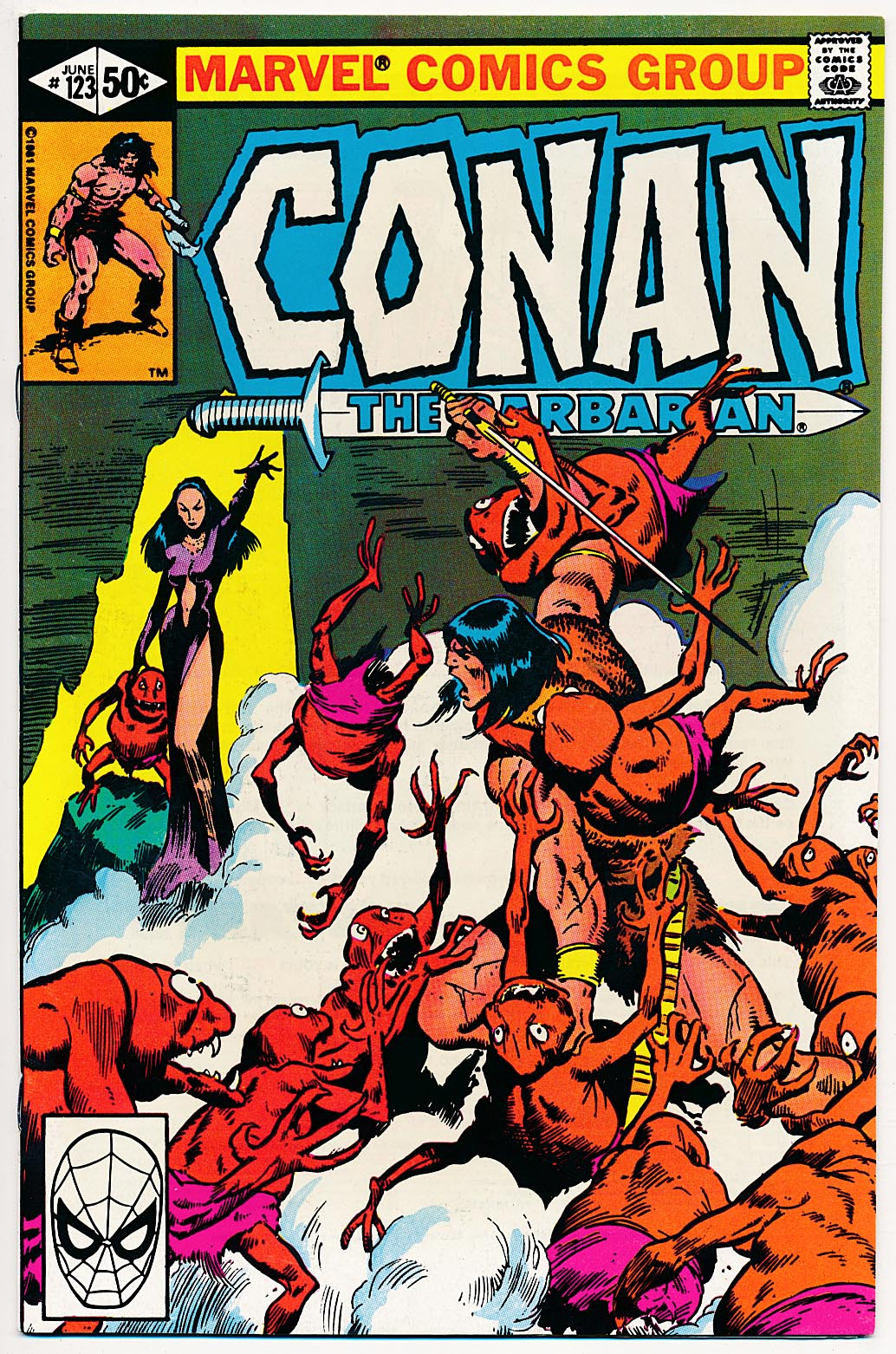 Conan The Barbarian (Marvel) 123 -NM