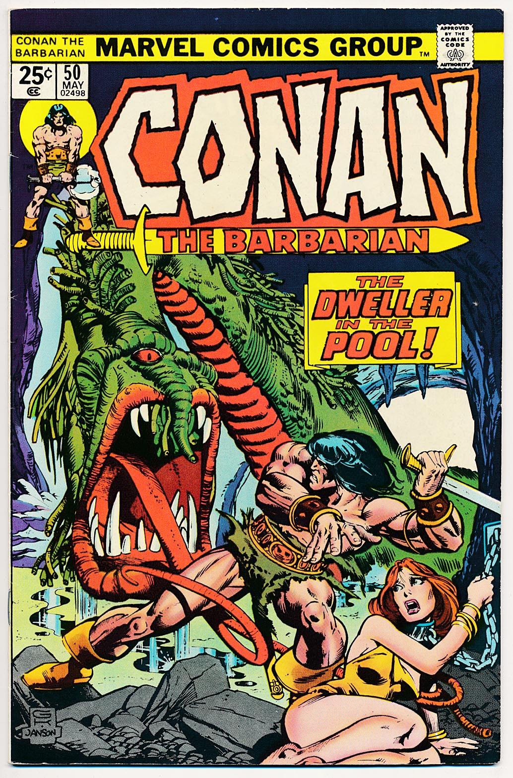 Conan The Barbarian (Marvel) 50 -VF
