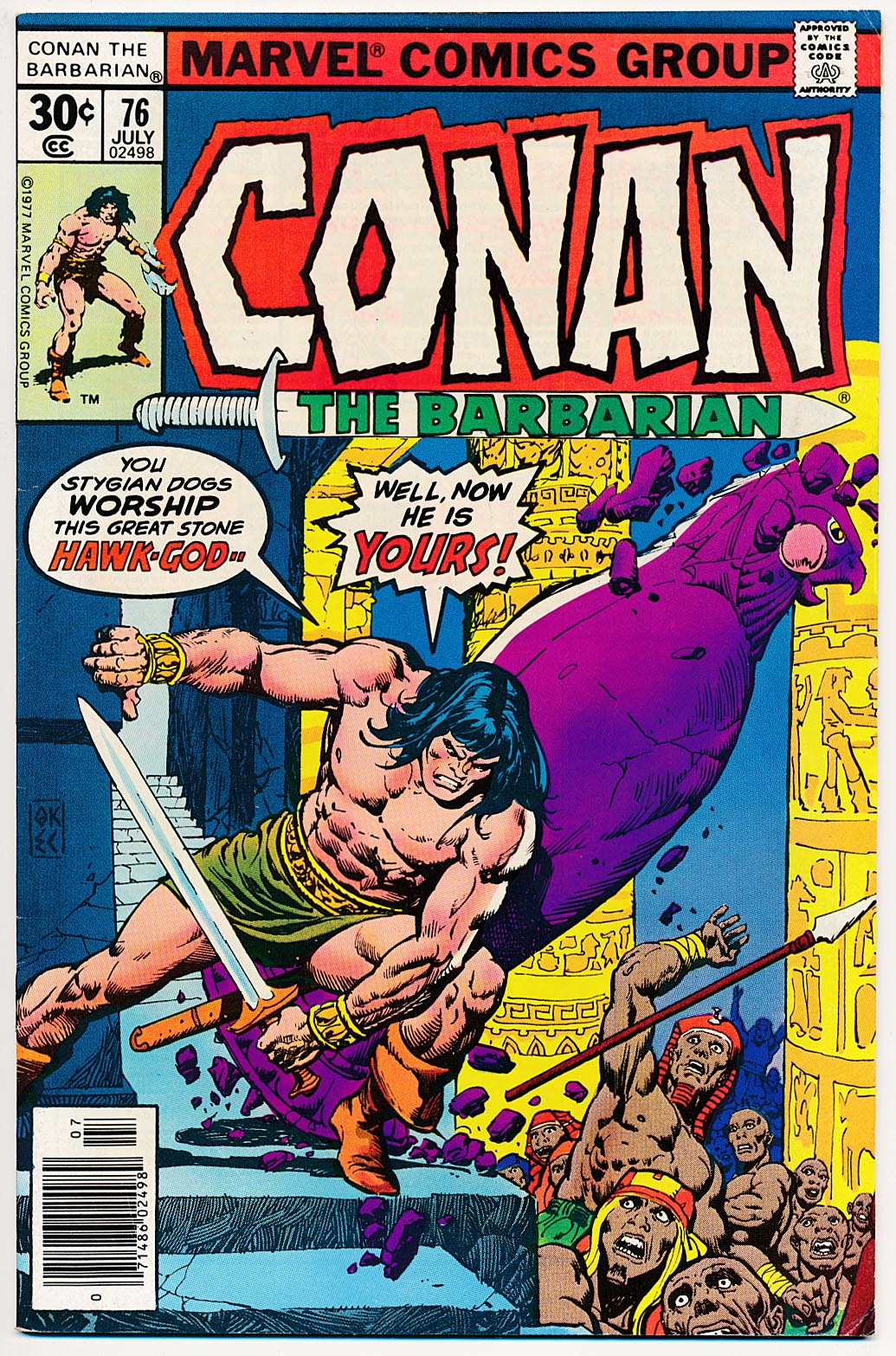 Conan The Barbarian (Marvel) 76 --VF