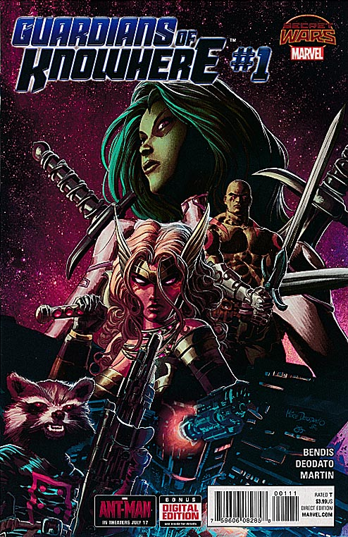 Guardians Of Knowhere 1 (Mike Deodato Regular Cover)