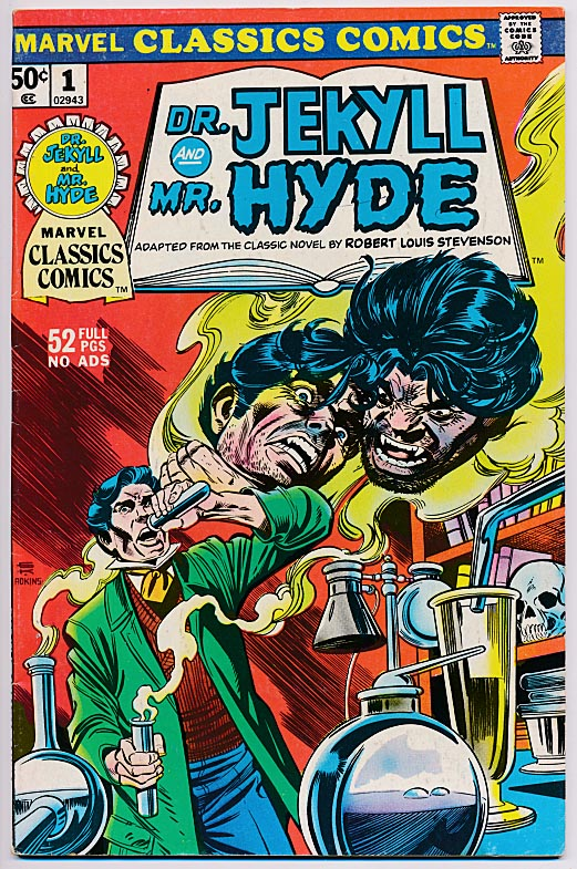 Marvel Classics Comics 1 (Dr Jekyll And Mr Hyde) -FVF