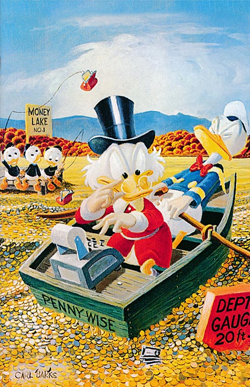 Uncle Scrooge (Boom) 400 (Deluxe Edition Carl Barks Painted Cover)