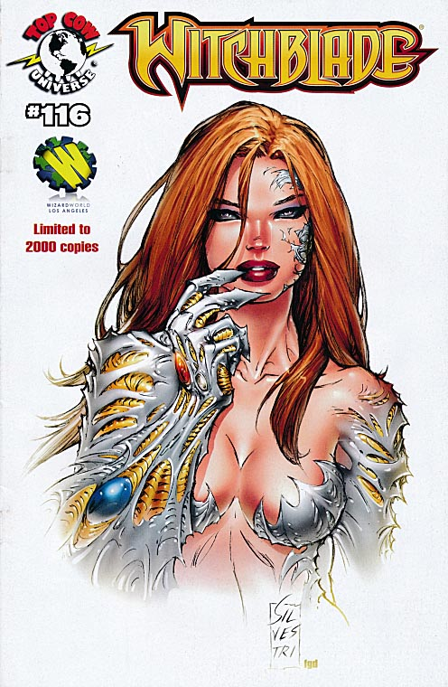 Witchblade 116 (Marc Silvestri Wizard World Los Angeles Variant 1 of 2000 )