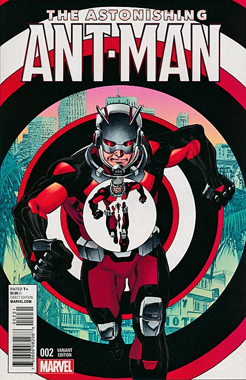 Astonishing Ant-Man 2 ( 1 in 25 Mike Perkins Variant)