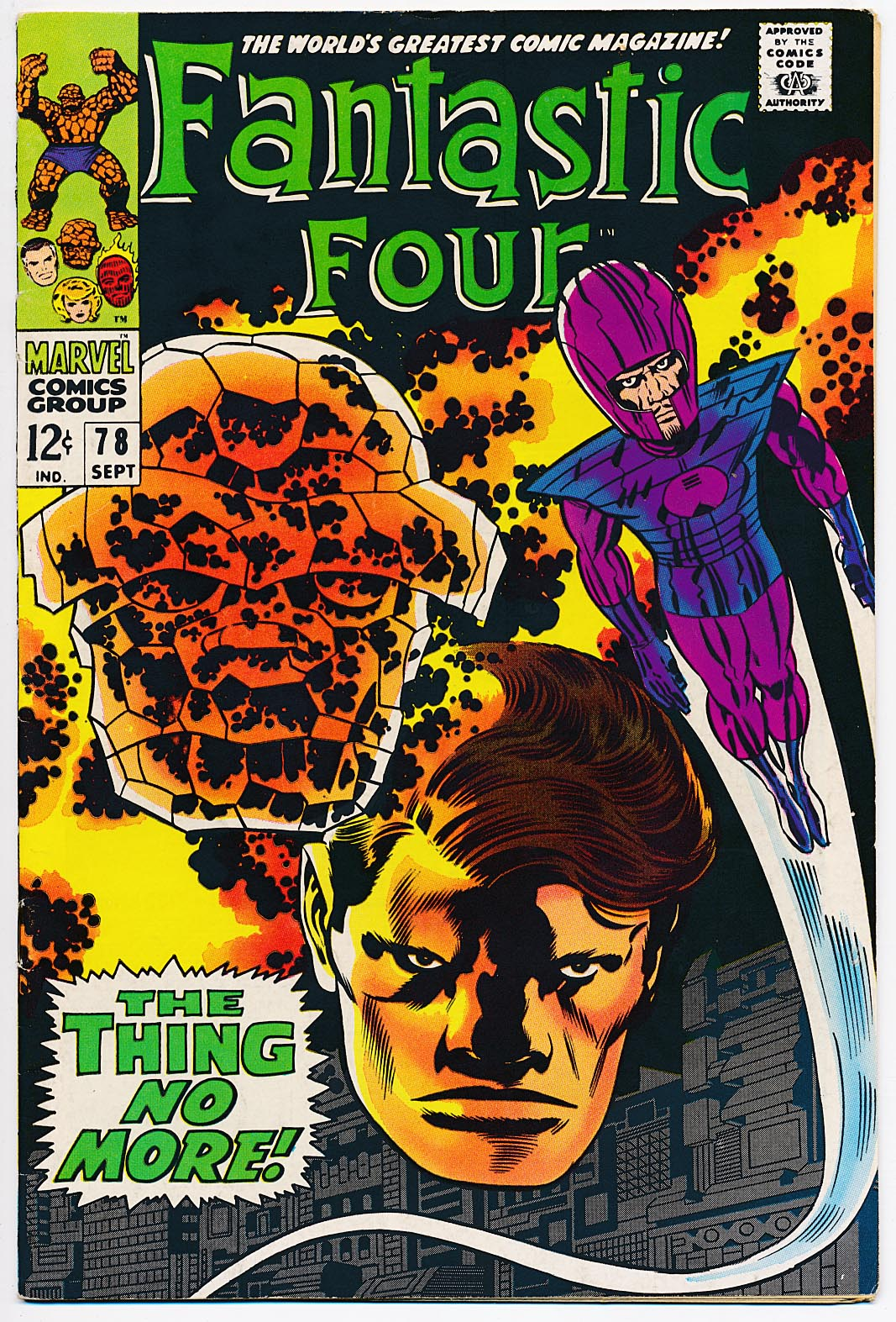 Fantastic Four 78 -VF