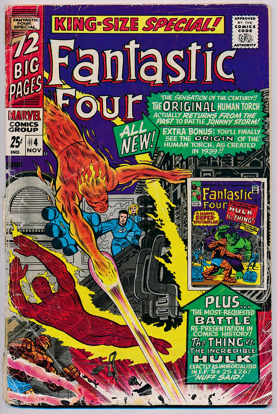 Fantastic Four Annual 4 -G