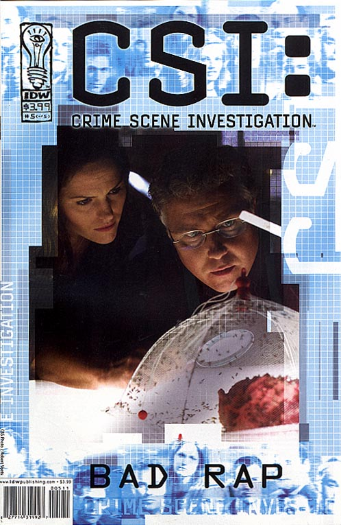 CSI Crime Scene Investigation Bad Rap 5 (of 5 ) (Photovariant Cvr)
