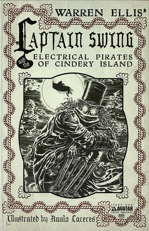 Captain Swing and the Electrical Pirates of Cindery Island 1 ( 1 in 3 Incentive Penny Dreadful Variant)