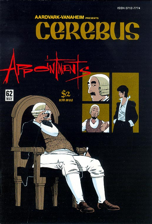 Cerebus The Aardvark 62
