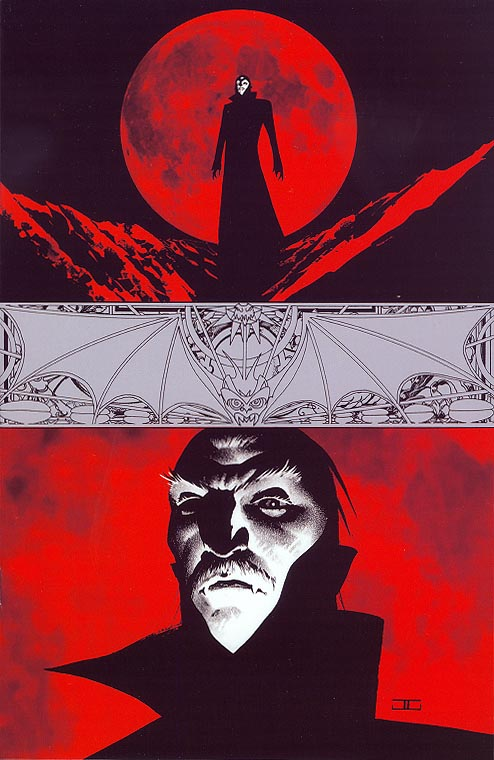 Complete Dracula (Dynamite) 1 (of 5 ) ( 1 in 20 Incentive Virgin John Cassaday Variant)