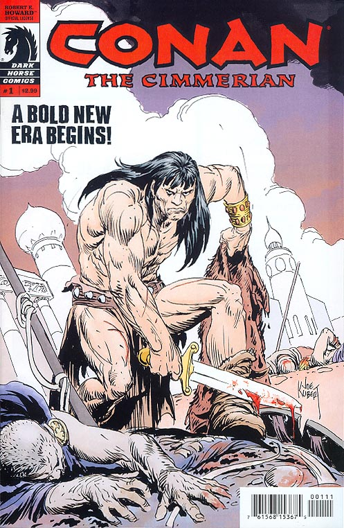 Conan The Cimmerian 1 (Joe Kubert Cvr)