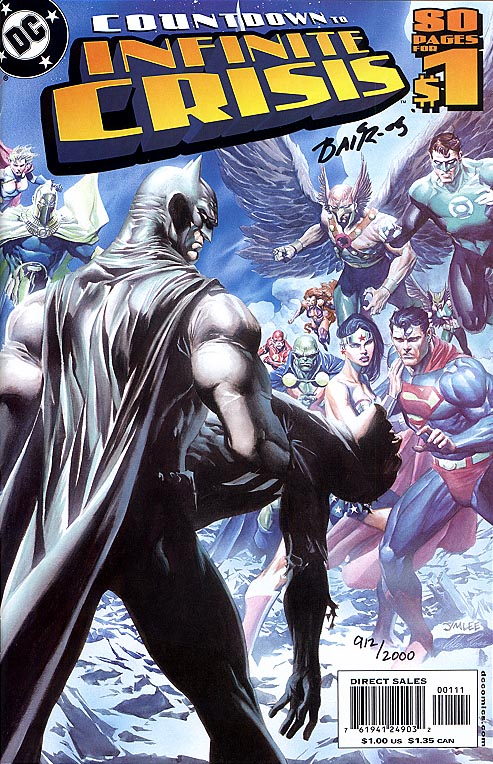 Countdown To Infinite Crisis (DF Signed By Michael Bair 1 of 2000 )