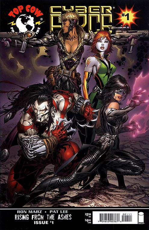 Cyberforce vol 3 - 1 (Marc Silvestri Cvr)