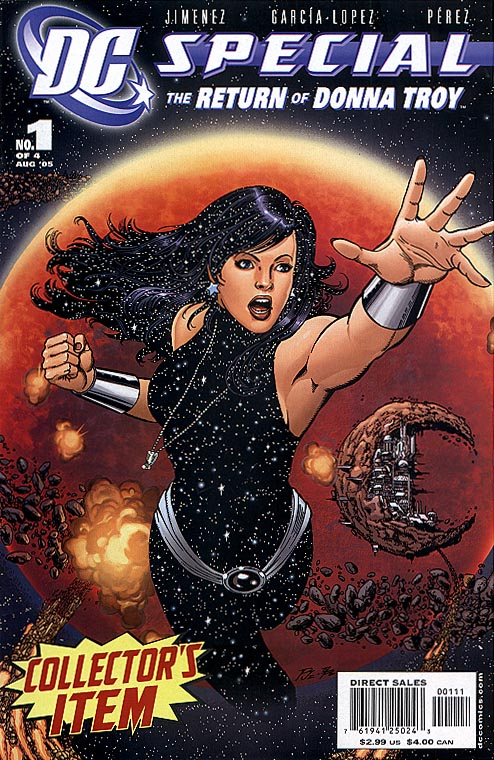 DC Special The Return Of Donna Troy 1 (of 4 )