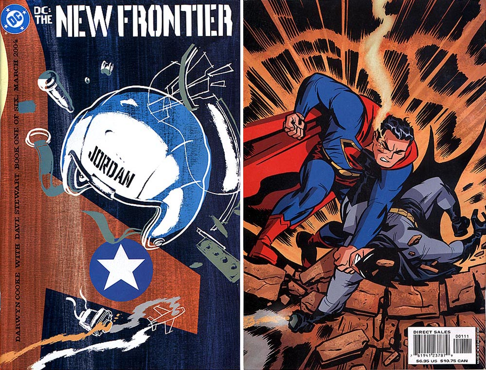 DC The New Frontier 1 (of 6 ) (F&B Covers)