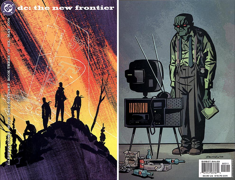 DC The New Frontier 3 (of 6 ) (Front&Back Covers)