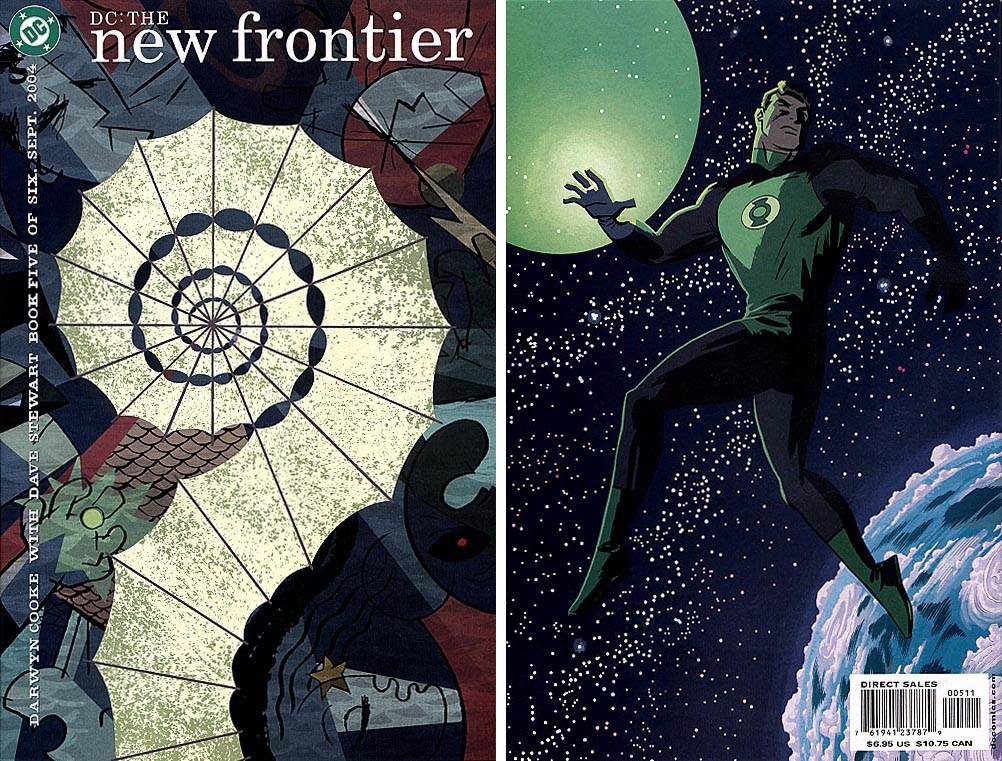 DC The New Frontier 5 (of 6 ) (Front&Back Covers)
