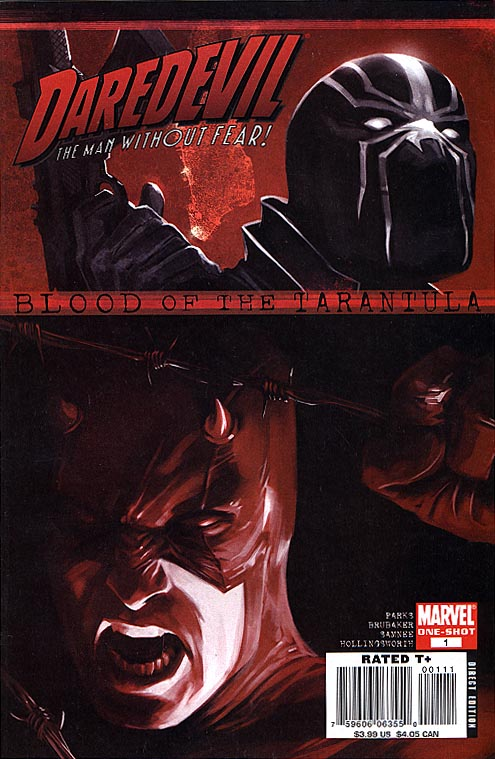 Daredevil Blood Of The Tarantula 1 (one-shot)