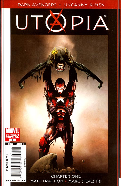 Dark Avengers Uncanny X-Men Utopia 1 ( 1 in 20 Incentive Jae Lee Variant)