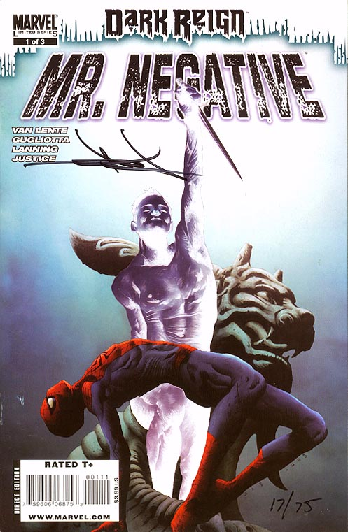 Dark Reign Mister Negative 1 (of 3 ) (DF Signed Edition 1 of 75 )