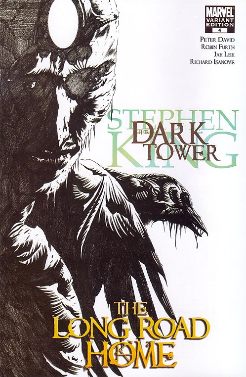 Dark Tower The Long Road Home 4 (of 5 ) ( 1 in 50 Incentive Sketch Variant)