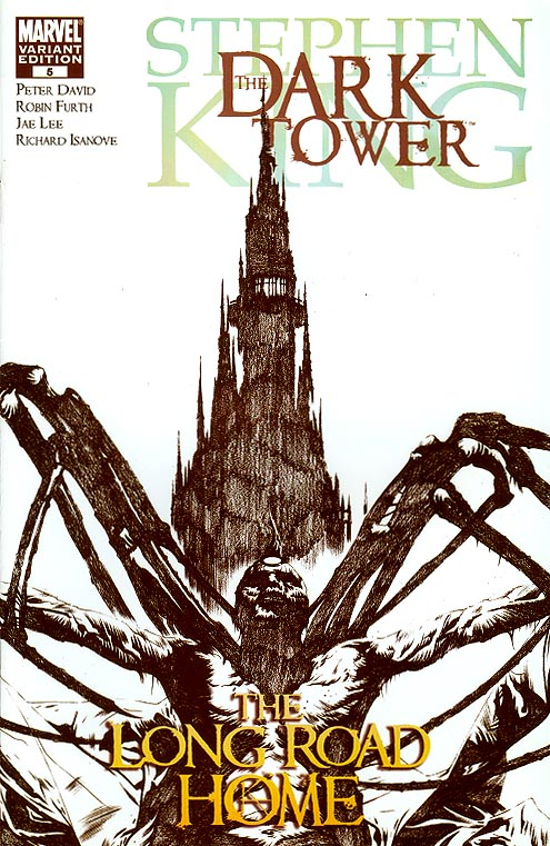 Dark Tower The Long Road Home 5 (of 5 ) ( 1 in 50 Incentive Sketch Variant)