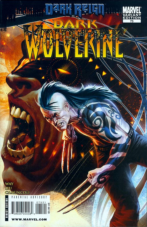 Dark Wolverine 75 ( 1 in 15 Incentive Variant)