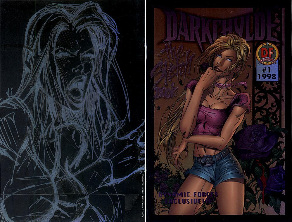 Darkchylde The Sketch Book (DF Exclusive Stormkote Foil)