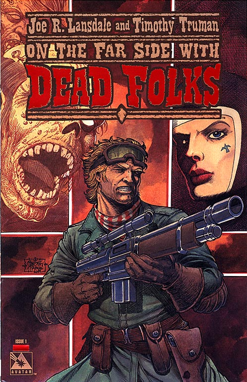 Dead Folks (Lansdale&Truman) 1 (Blood Red Foil Incentive Cvr 1 of 750 )