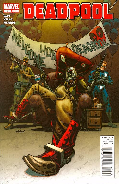 Deadpool vol 3 - 36