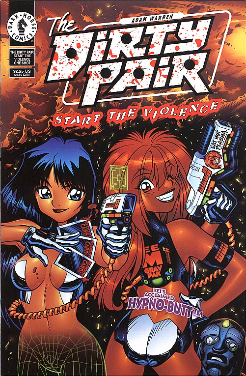 Dirty Pair Start The Violence one-shot