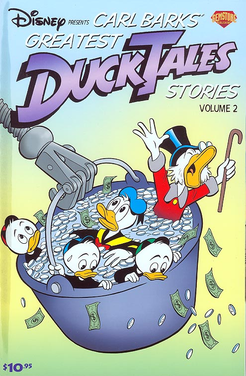 Disney Presents Carl Barks Greatest Duck Tales Stories GN 2