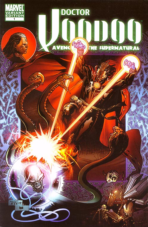 Doctor Voodoo Avenger of the Supernatural 1 ( 1 in 15 Tan Variant)