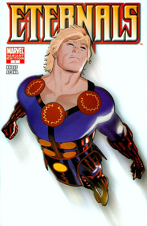 Eternals vol 4 - 1 ( 1 in 75 Incentive Acuna Variant)