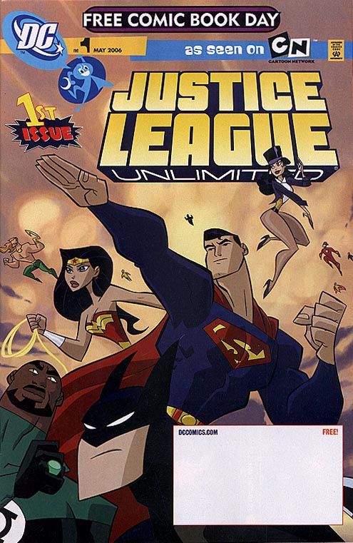 FCBD 2006 Justice League Unlimited 1 (DC Comics)