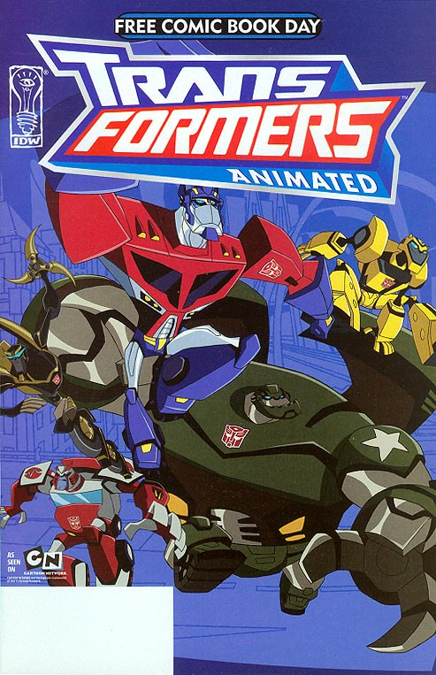 FCBD 2008 Transformers Animated