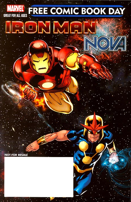 FCBD 2010 Iron Man Supernova 1