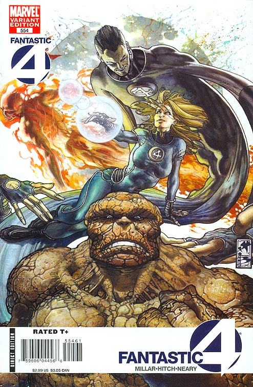 Fantastic Four 554 ( 1 in 15 Incentive Variant)