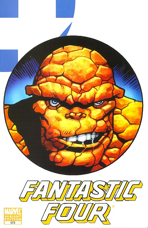 Fantastic Four 573 ( 1 in 22 Incentive Thing Variant)